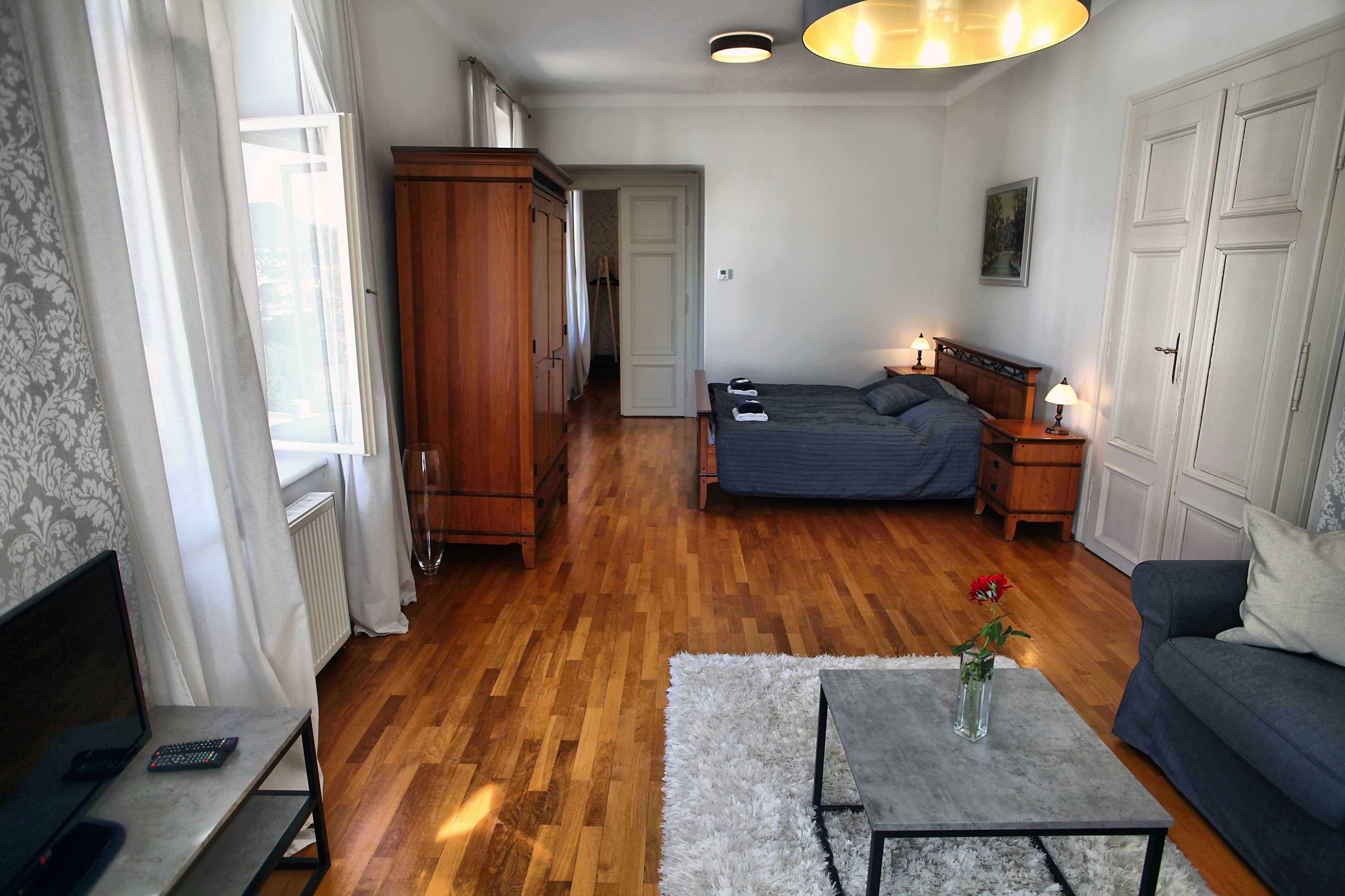 Zámecký apartmán - ložnice